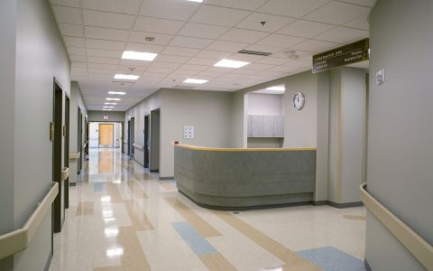 Kansas Medical Center Main Hallway
