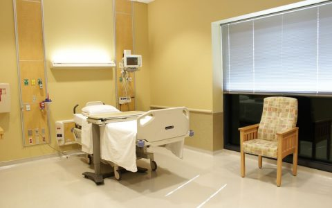 Kansas Medical Center Patient Room 2