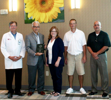 Kansas Medical Center regional award winner