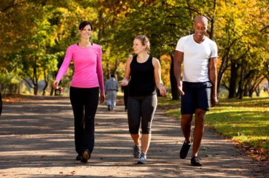 How much should the average adult exercise every day?
