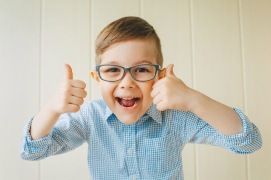 August is Children's Eye Health and Safety Month – Warning Signs your child may have a vision problem.