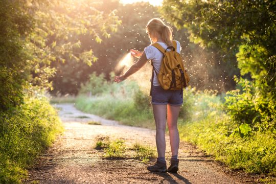Protect yourself from mosquitos and ticks