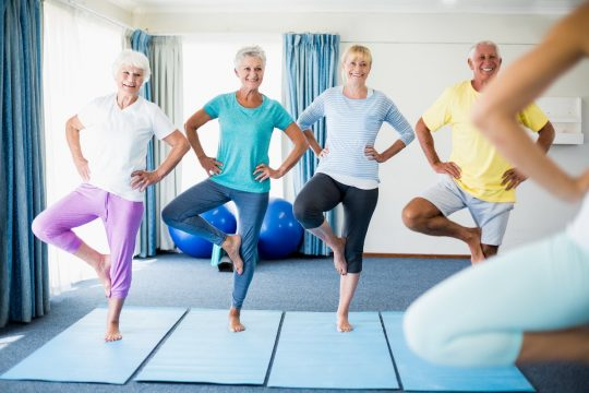 Worried About Falling? Try These Exercises to Improve Your Balance